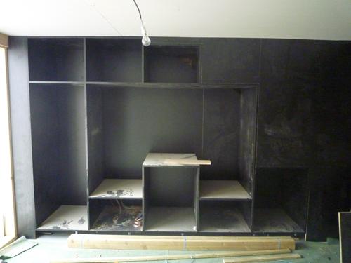 Loft 5 meuble tv for Meuble tv escamotable